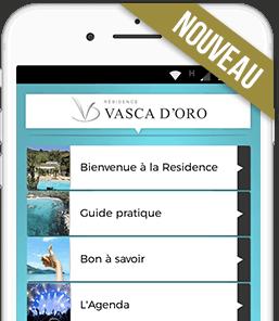 App mobile de la résidence