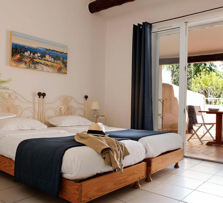 Chambre double 2 pers. résidence Porto-Vecchio