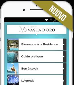 Application mobile des vacances en Corse