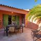 Terrasse dans villa tout confort proche des plages